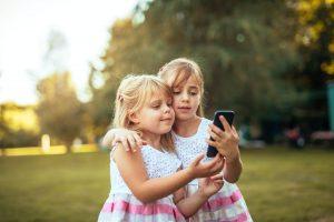 Kids love smartphones