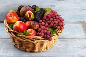 Fresh organic fruits